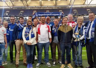 Auswärtsfahrt Auf Schalke
